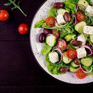 Kip kerrie salade