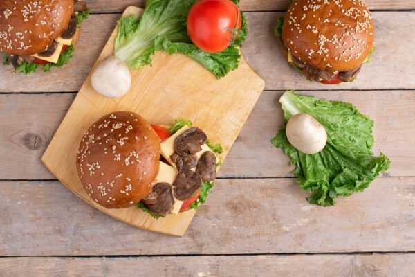 Champignonburger