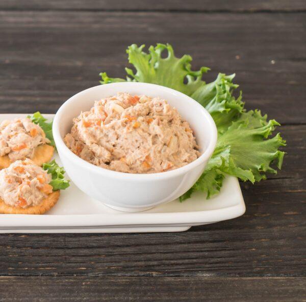 Frisse en voedzame tonijn salade